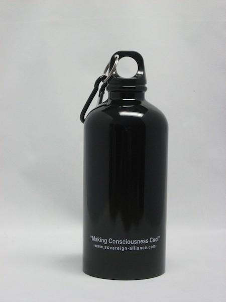Black Water Bottles Gallery Bulletin Bottle