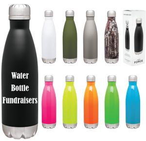 Water Bottle Fundraisers