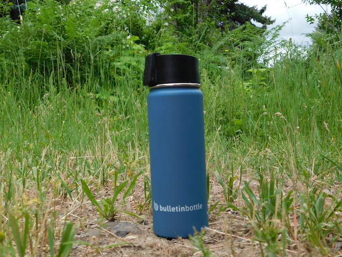 Rubberized Insulated Sports Bottle