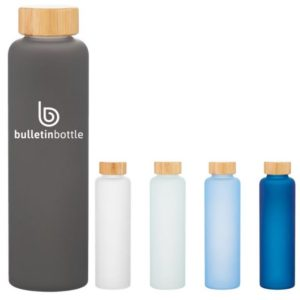 H2Go Frosted Glass Rincon Bottle