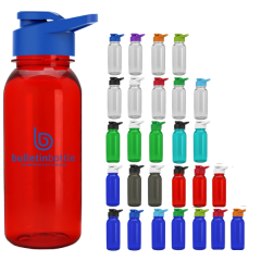 Small Traditional Water Bottle with Flip Lid