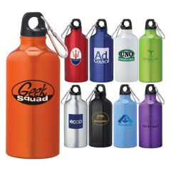 Simple Carabiner Sport Bottle